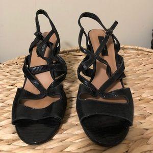 Ann Taylor strap Heels